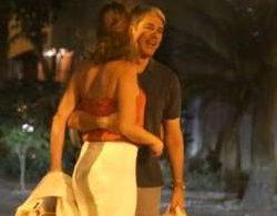 William Bonner é visto trocando carinhos com a namorada, Natasha Dantas