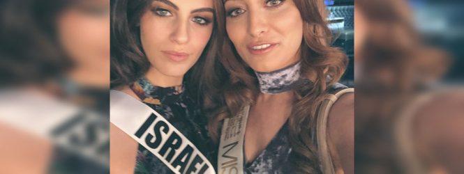 Miss Iraque causa polêmica após publicar foto com miss Israel