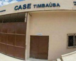 Três internos usam cabo de aço para fugir do Case de Timbaúba