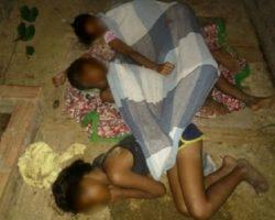 Polícia Civil do Acre encontra três irmãos em chiqueiro