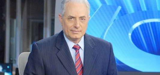 Depois de demitido pela Globo, William Waack pode ir para o SBT