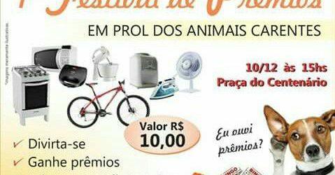 Grupo Protetores de Animais Carentes de Timbaúba realiza 1º Festival de Prêmio e Feira de Adoção
