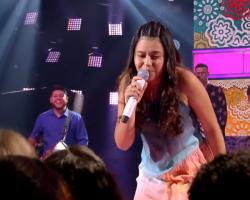 Paraibana Eduarda Brasil é a ganhadora da terceira edição do The Voice Kids