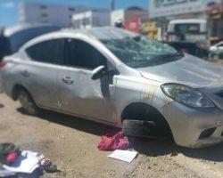 PM morre em acidente de carro na cidade de Petrolina