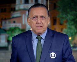 Narrador Galvão Bueno renova contrato com a Rede Globo
