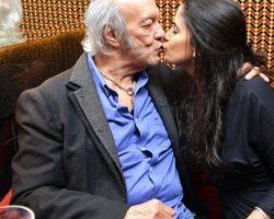 Erasmo Carlos se casa com mulher 49 anos mais nova do que ele
