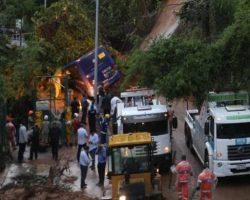Sobe para 10 o número de mortos após chuvas no Rio de Janeiro