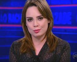 SBT não renova contra com Raquel Sheherazade que deixa a emissora após nove anos