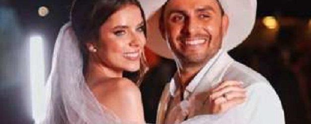 Mano Walter se casa em cerimônia de luxo em Maceió