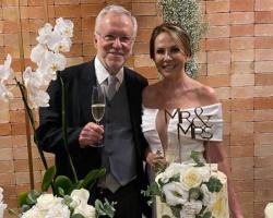 Jornalista Alexandre Garcia se casa aos 79 anos