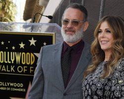 Ator americano Tom Hanks e sua mulher são diagnosticados com coronavírus