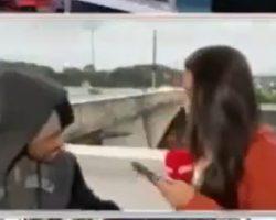 Repórter da CNN é assaltada por homem com faca e perde dois celulares