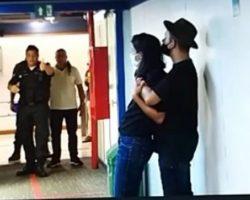 Homem armado invade TV Globo e faz repórter de refém