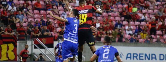 Sport estreia no quadrangular do rebaixamento do PE contra o Vitória, segunda-feira